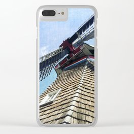 WINDMILL HOLLAND MICHIGAN Clear iPhone Case