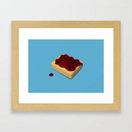 Eponger sa faim // Hungry Framed Art Print