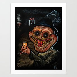 Shots with LeadMouth Art Print