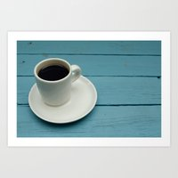 coffe Art Prints featuring Coffe by Camaracraft