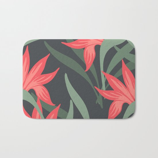 Flowers -a1 Bath Mat