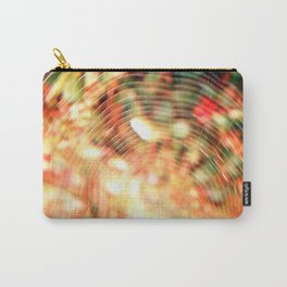 Cobweb with flowers behind Carry-All Pouch
