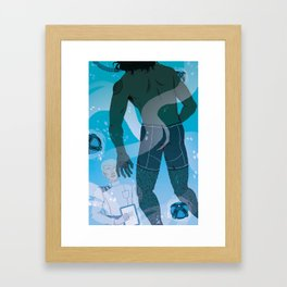 The Tank Framed Art Print