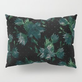 Art splash brush strokes paint abstract print Pillow Sham