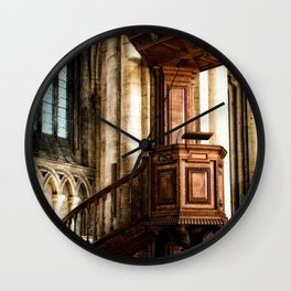The Pulpit Wall Clock