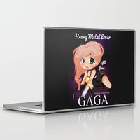 heavy metal Laptop & iPad Skins featuring Heavy Metal Lover ♥ by Chimi-uzz