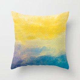 Abur on Dusk Throw Pillow