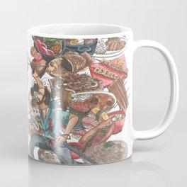 Clash of Food Cultures Coffee Mug