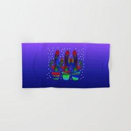 Cactus Rainbow 03 Hand & Bath Towel