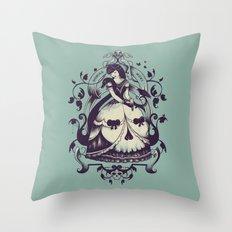 Mrs. Death Throw Pillow
