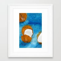 coco Framed Art Prints featuring Coco by Cro_Ki