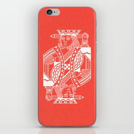 Creativity Is King iPhone Skin