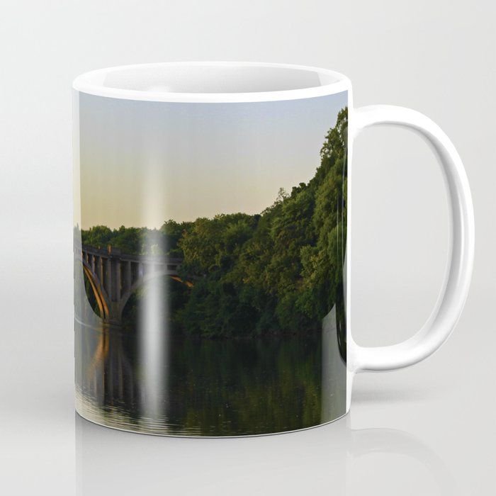 Fredericksburg Railroad Bridge Coffee Mug