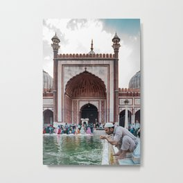 Jama Masjid | Old Delhi, India Metal Print