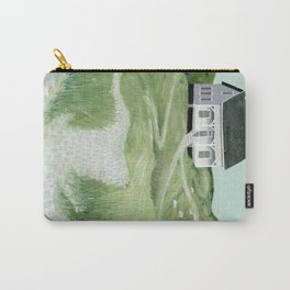 Cottage on the beach Carry-All Pouch