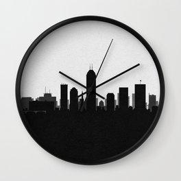 City Skylines: Indianapolis Wall Clock