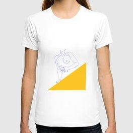 Yellow, Torso of a Woman T-shirt