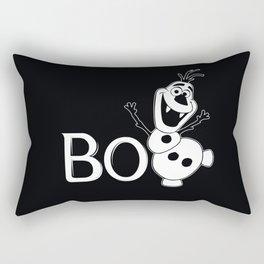 BOO - It's a Snowman! - HALLOWEEN Rectangular Pillow