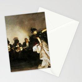 El Jaleo by John Singer Sargent - Vintage Fine Art Oil Painting Stationery Cards