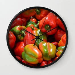 Peppers Photo Wall Clock