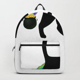 Cat Leprechaun Shirt - Funny Cat Saint Patrick's Day Shirt Backpack