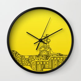 Yellow Submarine Solo Wall Clock