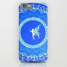 Fairy Garden white iPhone Case