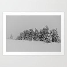 Time Frozen IV Art Print