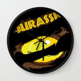 Jurassic - The Raptor Wall Clock