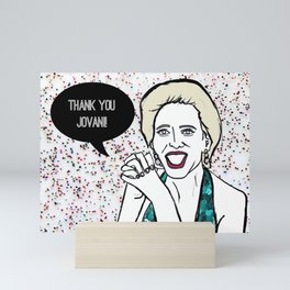 Thank you Jovani Mini Art Print
