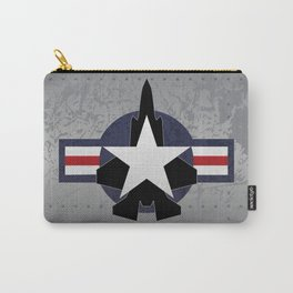 F35 Fighter Jet Airplane - F-35 Lightning II Carry-All Pouch