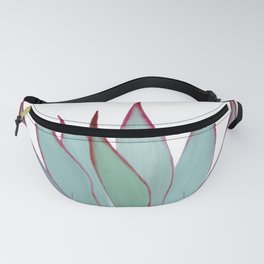 Elegant Agave Fringe Illustration Fanny Pack