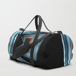 Blue Geode Duffle Bag