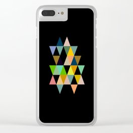 Abstract #821 Clear iPhone Case