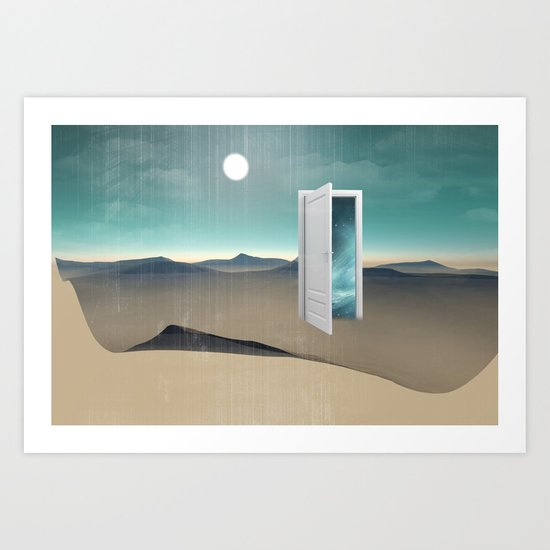 door to a void Art Print