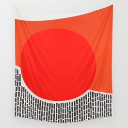 Sunshine And Rain Abstract Wall Tapestry