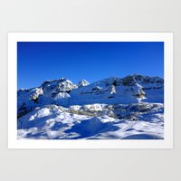 Dolomite view 1 Art Print