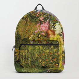 In the Magical Garden of Paradise by Dugald Stewart Walker Backpack