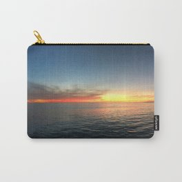 Sunset Over the Pacific Carry-All Pouch