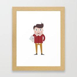 Designer Guy Framed Art Print