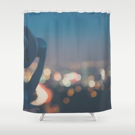 being a tourist in LA ... Shower Curtain