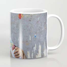 Gipsy woman, street photography, print, colorful, urban, photography, wall art, decor Coffee Mug