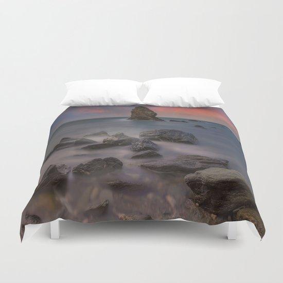 Rhoscolyn Rocks Duvet Cover