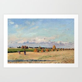 Camille Pissarro Landscape, Ile-de-France Art Print