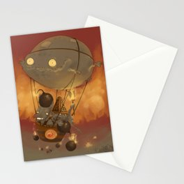 Goblin Balloon Brigade Stationery Cards