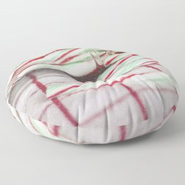 Candy Canes Floor Pillow