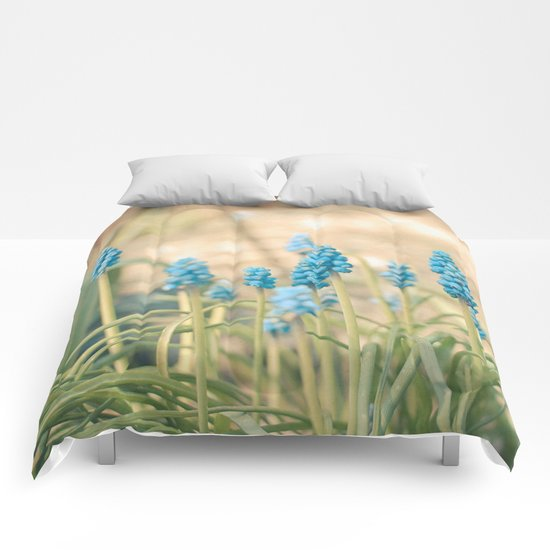 Forest of Blue Comforters
