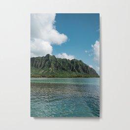 Hawaiian Mountain II Metal Print