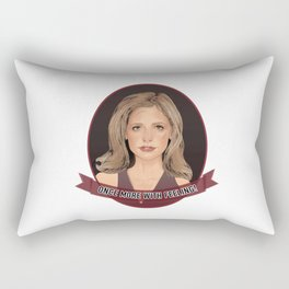 Buffy Summers - Once More with Feeling Rectangular Pillow