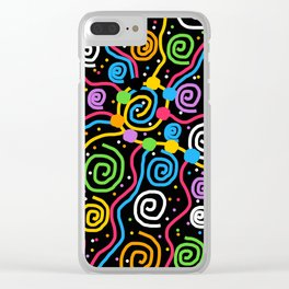 Happy Birthday Party String Clear iPhone Case